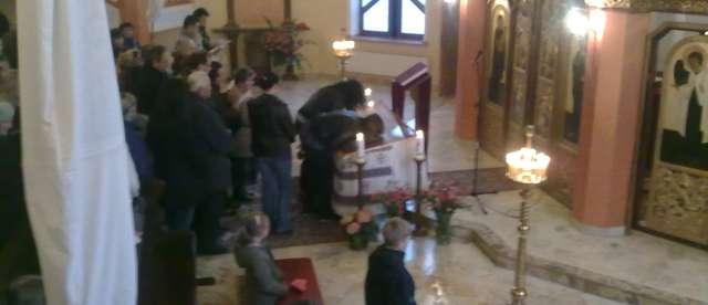 Wielki Piątek w giżyckiej cerkwi - full image