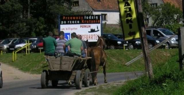 Krutyń: wieś nad Krutynią - full image