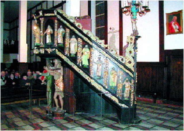 Pisz: kościół św. Jana Chrzciciela - full image