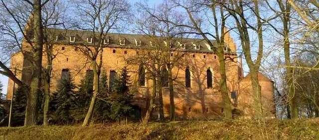 Barciany: zamek w remoncie - full image