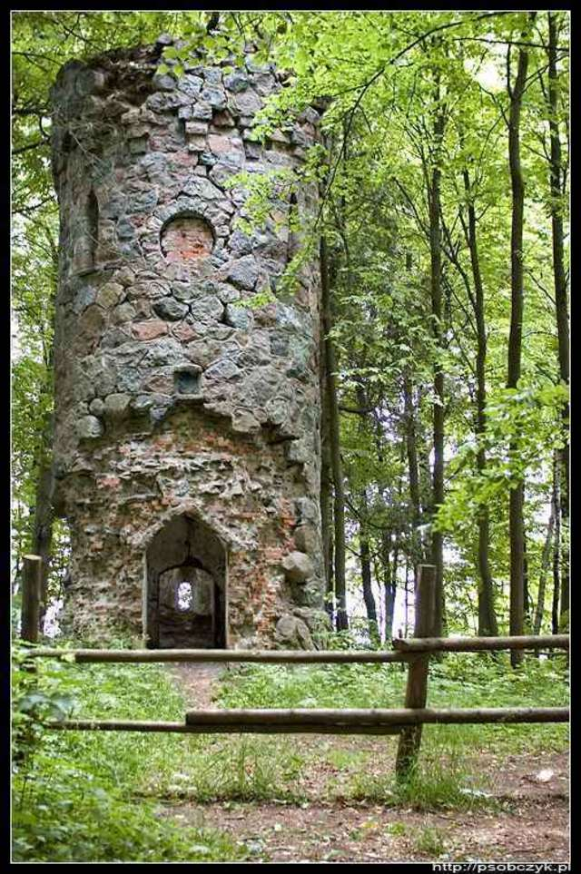 Srokowo:Wieża Bismarcka - full image