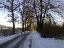 Barczewo - Barczewko: zimowe zmagania i piękne widoki