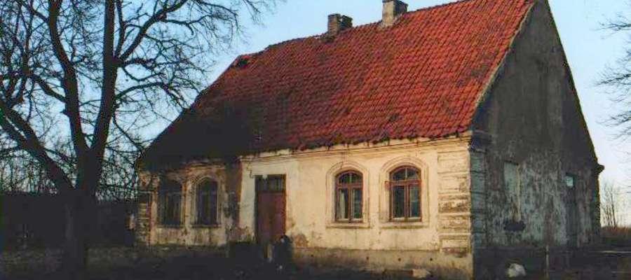 Dworek w Bońkowie Podleśnym w gminie Radzanów
