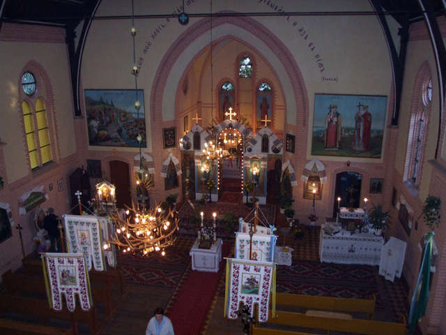 Korsze: cerkiew prawosławna św.św. Piotra i Pawła - full image