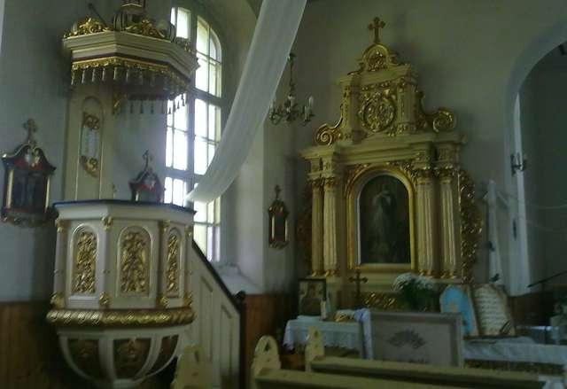 Wielki Łęck: kościół św. Mikołaja - full image