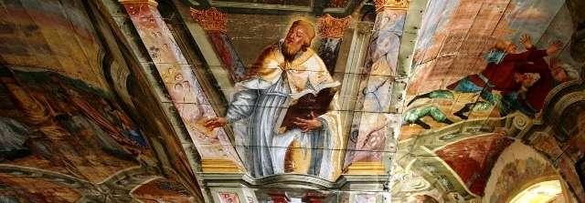 Chwalęcin:  Sanktuarium Podwyższenia Krzyża Świętego  - full image