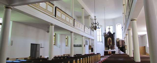 Giżycko: kościół ewangelicki - full image