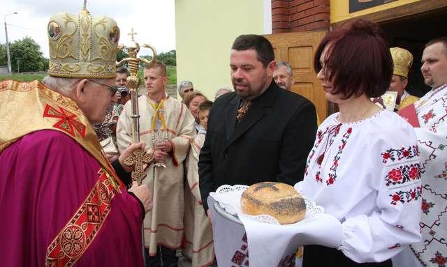 Przywitanie władyki arcybiskupa Iwana Martyniaka - full image