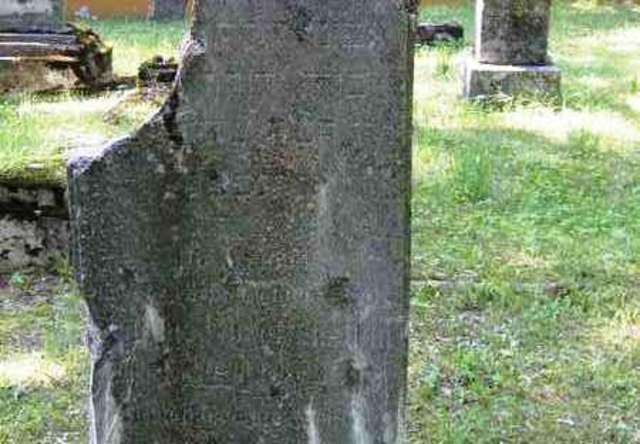 Gołdap: cmentarz żydowski - full image