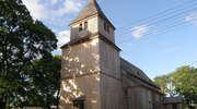 Ostrykół: drewniany kościół