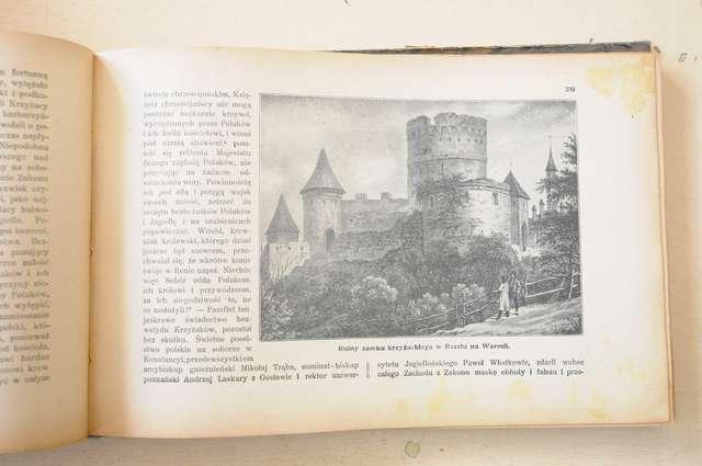 Zamki na Warmii i Mazurach sto lat temu - full image