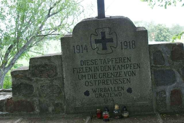 Dubeninki: cmentarz wojenny - full image