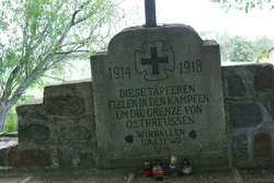 Dubeninki: cmentarz wojenny