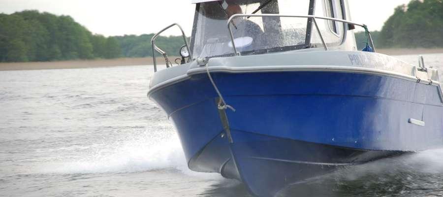 Policyjny patrol wodny zatrzymał nietrzeźwego sternika motorówki