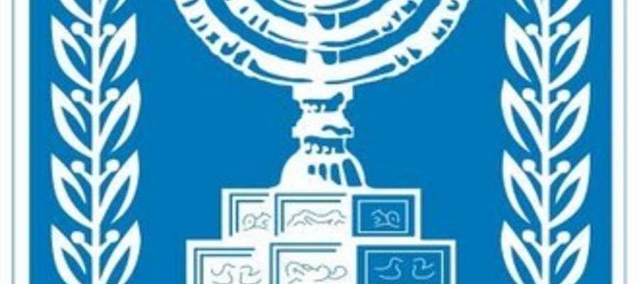 Godło Izraela.