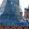 Na wieży kościoła poewangelickiego