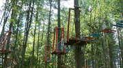 Kamińsk: park linowy