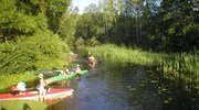 Spływy kajakowe rzeką Omulwią