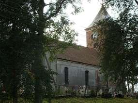 Kościół gotycki w Plutach