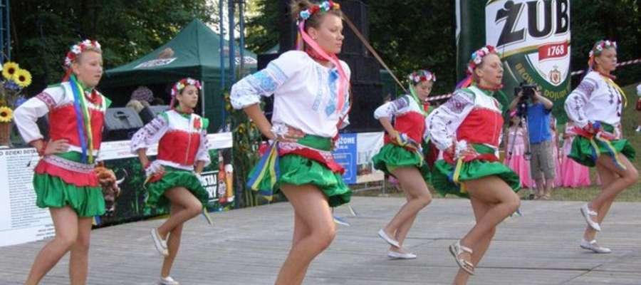 Widowiskowe występy podczas ukraińskiego święta
