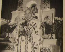 Ksiądz Myrosław Ripećkyj. Fotografia z 1966 roku.