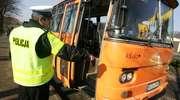 Pijany kierowca przewoził dzieci autobusem