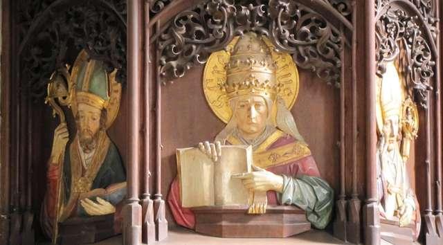 Barczewo: kościół św. Anny - full image