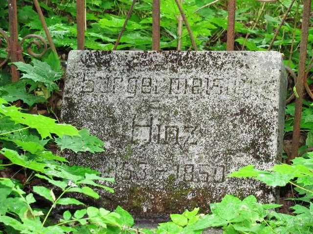Pasym: stary cmentarz ewangelicki - full image