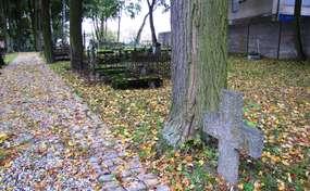 Cmentarz katolicki z XIX wieku w Ostródzie