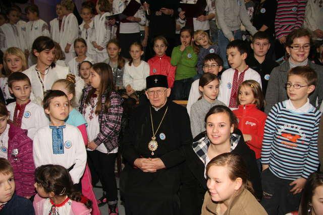 Młodzi grekokatolicy wystąpili w Górowie - full image