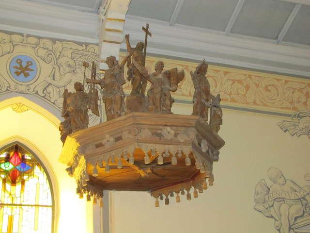 Wydminy: kościół Chrystusa Zbawiciela z XVII/XIX wieku - full image