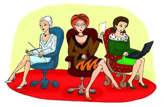 Kobiety wolą mieć szefów niż szefowe - full image