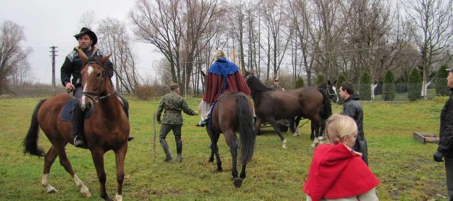 W 2010 roku rajd Hubertus rozpoczął się ujeżdżeniem koni