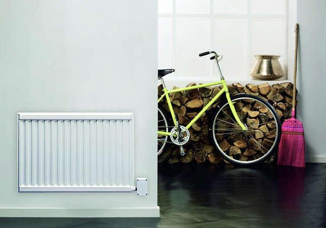 Elektryczne grzejniki płytowe mogą stanowić także główne źródło ciepła w naszym pokoju lub korytarzu - full image