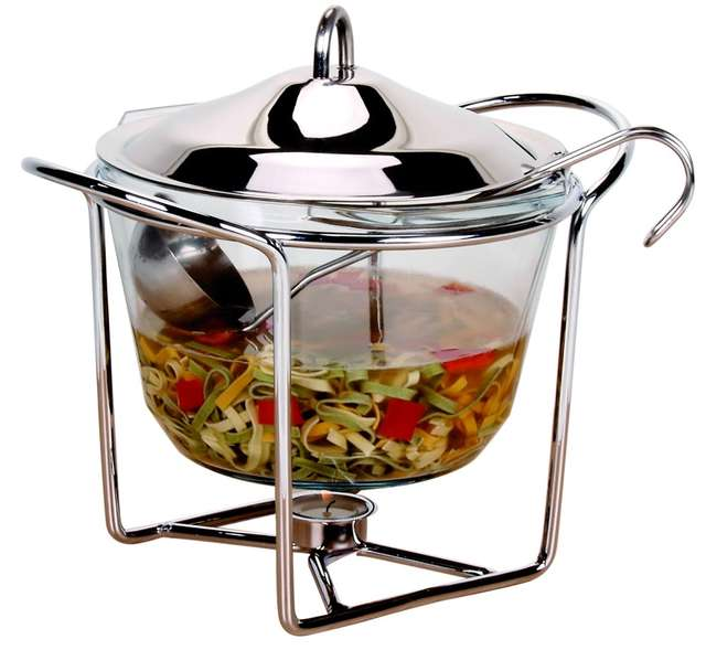 Do podania zupy idealne będzie głębokie naczynie okrągłe - full image