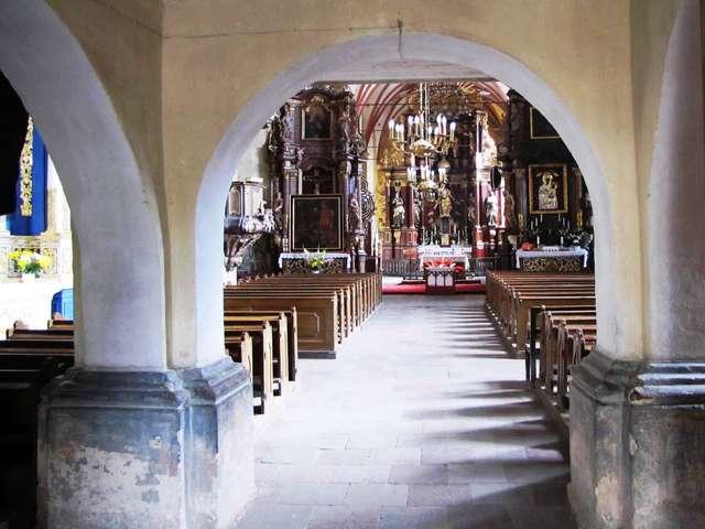 Barczewo: kościół św. Andrzeja Apostoła - full image