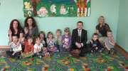 Przedszkolaki z Bajki dostały słodycze z rąk prezydenta