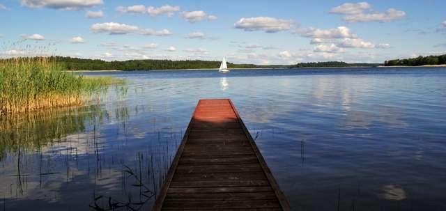 Krzyże: wieś nad jeziorem Nidzkim - full image