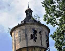 Pisz: wieża ciśnień z 1907 roku