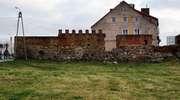 Sępopol: resztki murów miejskich