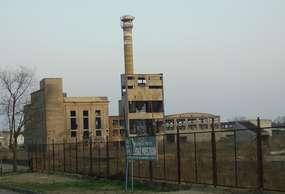 Ruiny największej wytwórni  płyt w Europie