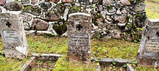Grabnik: cmentarz wojenny z I wojny światowej - full image
