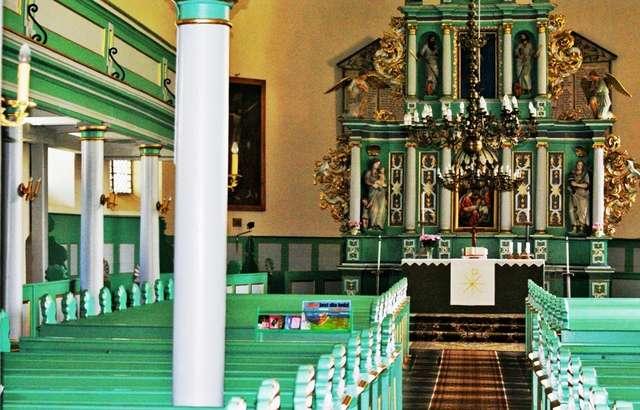 Szczytno: kościół ewangelicko - augsburski - full image