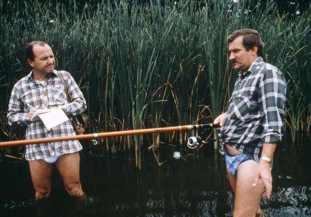 Lech Wałęsa wspiera Mazury Cud Natury - full image