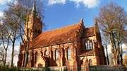 Sętal: neogotycki kościół z  1910 roku