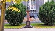Mrągowo: pomnik Krzysztofa Celestyna Mrongowiusza