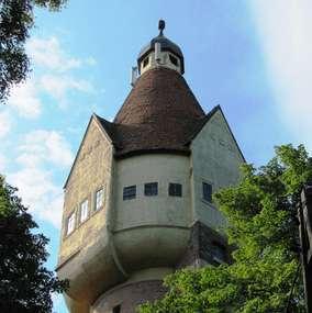 Wieża ciśnień wraz z budynkiem łaźni w Pasymiu