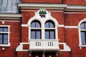 Ratusz w Kętrzynie z końca XIX wieku