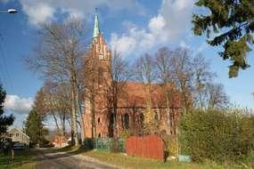Kościół w Sętalu z 1910 roku