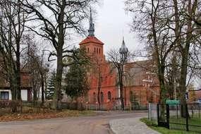Kościół z XIV/XIX  wieku w Kolnie